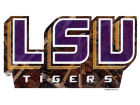 LSU Tigers Collegiate Camo Medium Decal Auto Accessories