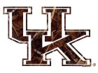 Kentucky Wildcats Collegiate Camo Medium Decal Auto Accessories