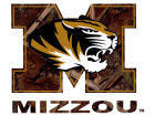 Missouri Tigers Collegiate Camo Large Decal Auto Accessories