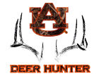 Auburn Tigers Collegiate Camo Large Deer Decal Auto Accessories