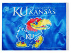Kansas Jayhawks Rico Industries Car Flag Auto Accessories