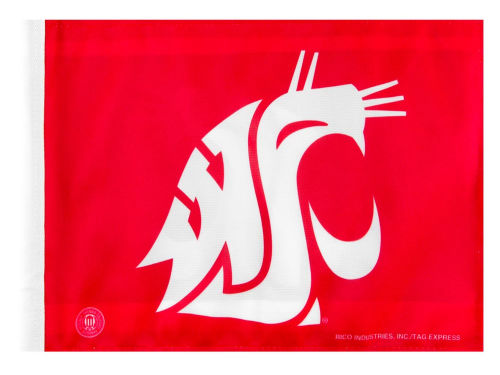 Washington State Cougars Rico Industries Car Flag Rico