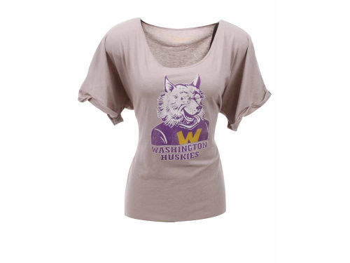 Washington Huskies NCAA Womens DR Dolman T-Shirt