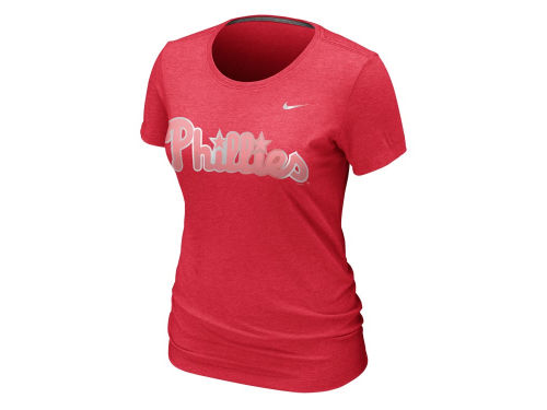 Philadelphia Phillies Nike MLB Womens Blended T-Shirt
