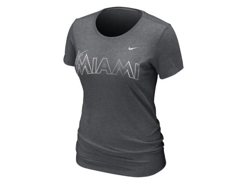 Miami Marlins Nike MLB Womens Blended T-Shirt