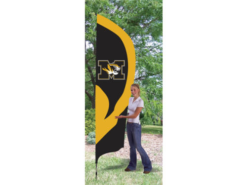 Missouri Tigers Tall Team Flag