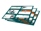 Miami Dolphins Forever Collectibles Gift Tags-NFL Holiday
