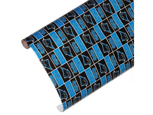 Carolina Panthers Gift Wrap