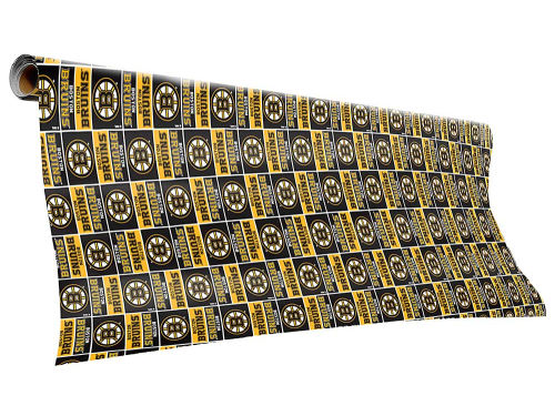 Boston Bruins Gift Wrap-NHL