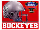 Ohio State Buckeyes Wincraft 5x6 Ultra Decal Bumper Stickers & Decals