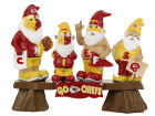 Kansas City Chiefs Forever Collectibles NFL Fan Gnome Bench Lawn & Garden