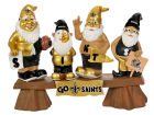 New Orleans Saints Forever Collectibles NFL Fan Gnome Bench Lawn & Garden