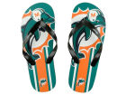 Miami Dolphins Big Logo Flip Flop-NFL Apparel & Accessories