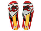 Kansas City Chiefs Big Logo Flip Flop-NFL Apparel & Accessories