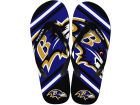 Baltimore Ravens Big Logo Flip Flop-NFL Apparel & Accessories