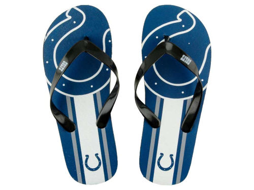 Indianapolis Colts Big Logo Flip Flop-NFL