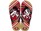 San Francisco 49ers Big Logo Flip Flop-NFL Apparel & Accessories
