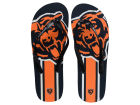 Chicago Bears Forever Collectibles Big Logo Flip Flop-NFL Apparel & Accessories