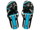 Carolina Panthers Big Logo Flip Flop-NFL Apparel & Accessories