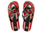 Tampa Bay Buccaneers Big Logo Flip Flop-NFL Apparel & Accessories