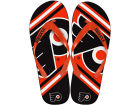 Philadelphia Flyers Forever Collectibles Big Logo Flip Flop-NHL Apparel & Accessories