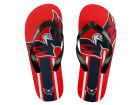 Washington Capitals Forever Collectibles Big Logo Flip Flop-NHL Apparel & Accessories
