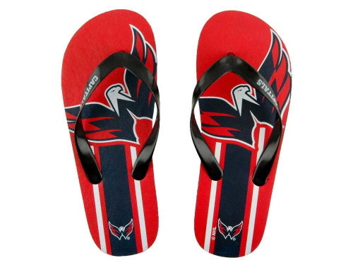 Washington Capitals Big Logo Flip Flop-NHL