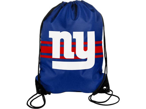New York Giants Forever Collectibles NFL Team Stripe Drawstring Backpack