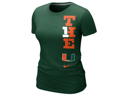 Miami Hurricanes Nike NCAA Womens Local T-Shirt 2012