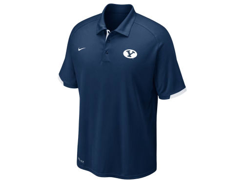 Brigham Young Cougars Nike NCAA Football Training Polo