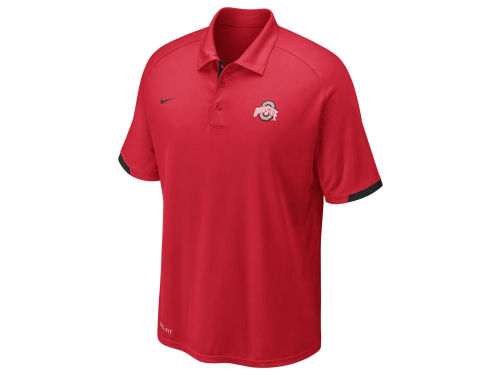 Ohio State Buckeyes Nike NCAA Football Training Polo