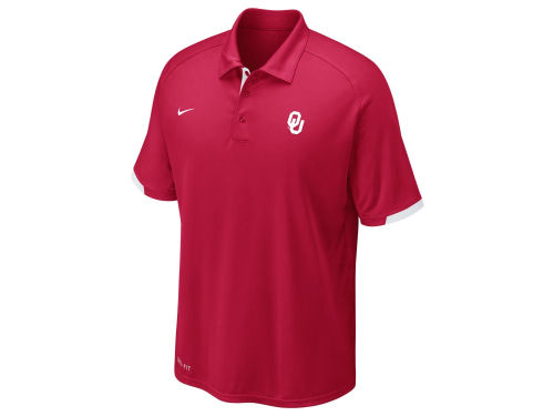 Oklahoma Sooners Nike NCAA Football Training Polo