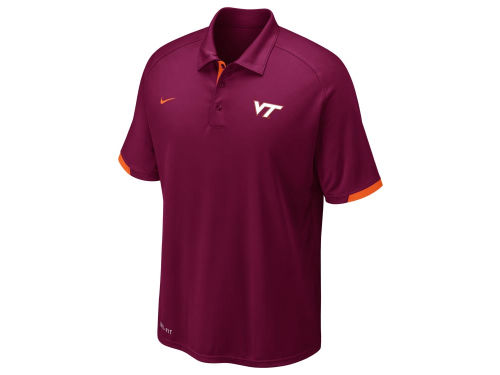 Virginia Tech Hokies Nike NCAA Football Training Polo
