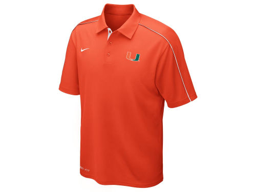 Miami Hurricanes Nike NCAA Control Force Polo
