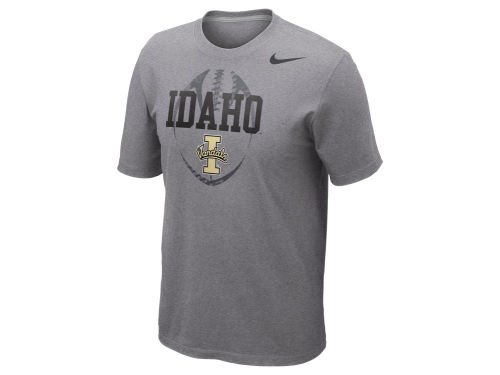Idaho Vandals Nike NCAA Football Team Issue T-Shirt