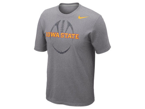 Iowa State Cyclones Nike NCAA Football Team Issue T-Shirt