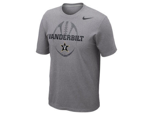 Vanderbilt Commodores Nike NCAA Football Team Issue T-Shirt