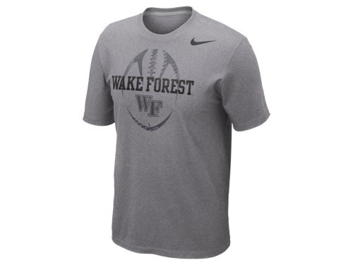 Wake Forest Demon Deacons Nike NCAA Football Team Issue T-Shirt