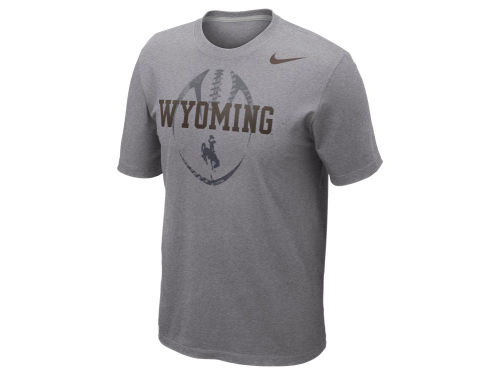 Wyoming Cowboys Nike NCAA Football Team Issue T-Shirt