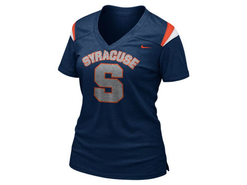 Syracuse Orange Nike NCAA Womens Football Replica T-Shirt