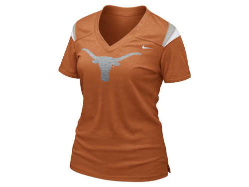 Texas Longhorns Nike NCAA Womens Football Replica T-Shirt