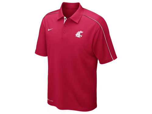 Washington State Cougars Nike NCAA Control Force Polo