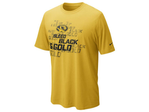 Missouri Tigers Nike NCAA DFCT Official Practice T-Shirt