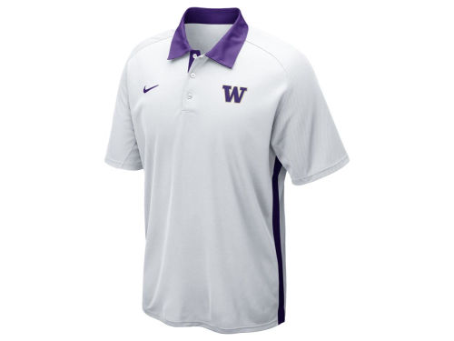 Washington Huskies Nike NCAA Elite Force Polo