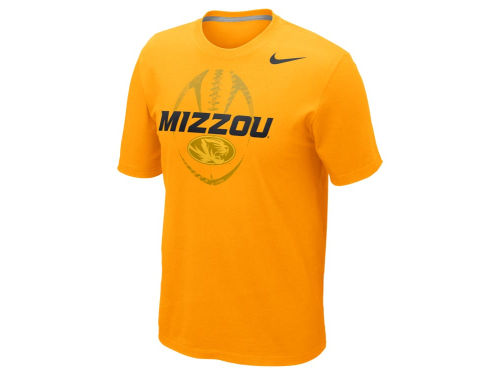 Missouri Tigers Nike NCAA Football Team Issue T-Shirt