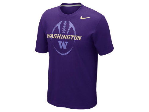 Washington Huskies Nike NCAA Football Team Issue T-Shirt