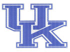 Kentucky Wildcats 8inch Perf Decal Bumper Stickers & Decals