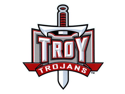 Troy University Trojans Vinyl Decal