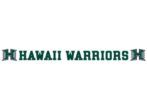 Hawaii Warriors Long Decal