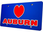 Auburn Tigers Laser Tag Auto Accessories